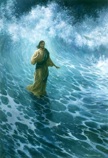 достаточно хождение по воде иисусом картинки дорогой