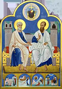 Через 7 дней после праздника Троицы (Пятидесятницы) начинается Петров или Апостольский пост, в память о двух самых почитаемых апостолах Петре и Павле.