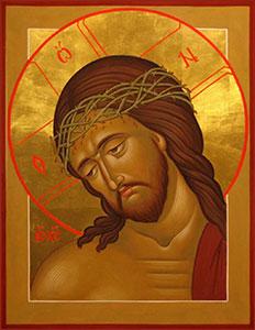 Страстная икона Спасителя