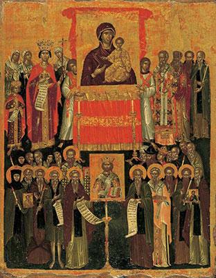 Икона Торжество Православия