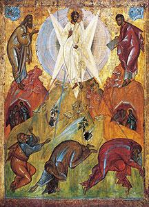 Преображение Господне. Икона. Феофан Грек. Начало XV века.
